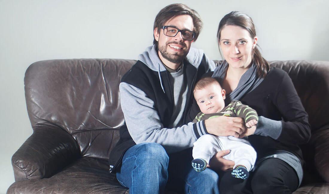 Familienproträt Familien Foto vom Fotograf Freising & München