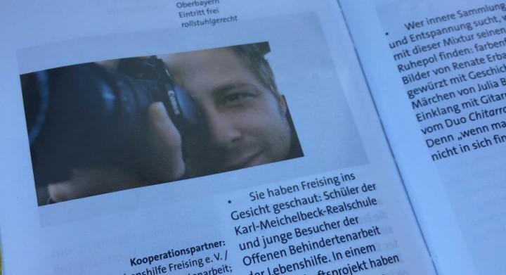 Ausstellung: Neue Blickwinkel - ZAMMA Programmheft