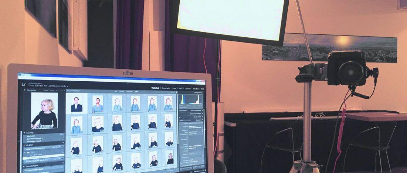 Jetzt neu: LIVE-Preview deiner Bilder während des Fotoshootings